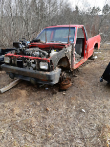 Parting out a 1990 Mazda b2200