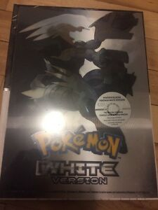 Pokemon black white guide BOOK hard cover livre neuf new