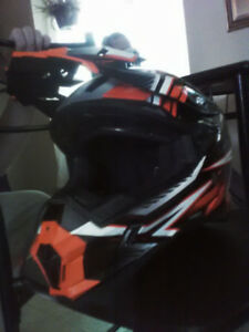 Mint condition ATV helmet