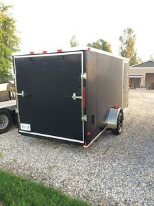 6x14 ENCLOSED CARGO TRAILER FOR RENT Kitchener / Waterloo Kitchener Area image 2
