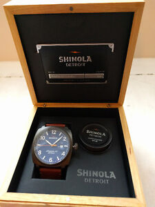BNIB - Authentic Men's Shinola Brakeman Watch (model #11000153)