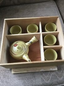 Clay Chinese Teaset