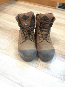 Steel toe Work Boots Size 9