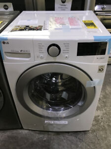 NEW LG  white front load washer & dryer PRICE $1599