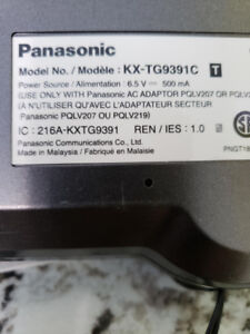 Panasonic two line cordless phone