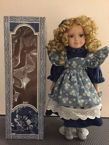 Genuine Porcelain Doll - hand painted West Island Greater Montréal image 2