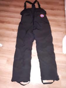 Pantalon de neige Canada Goose authentique