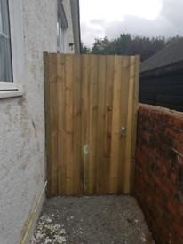 Garden gate brand new