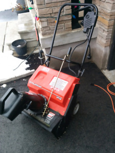 Murray 12 amp 20 inch electric snow blower
