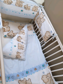 Baby Cotbed Bedding set (140x70)