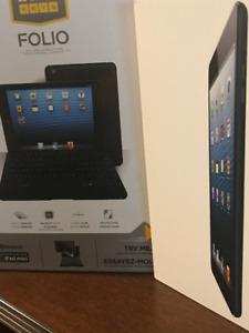iPad Mini 16 Gb wifi et LTE avec case clavier ZAGG et chargeur