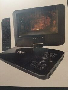7 inch swivel portable DVD player