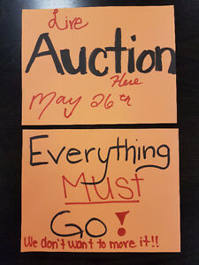 Small home appliances and more! - Live Auction