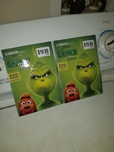 """WOW 2 """"BRAND-NEW"""" THE GRINCH DVD'S [FIRM]!!!"""