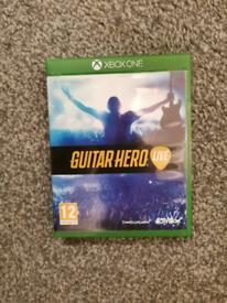 Free Guitar hero Live with 2 guitars - Xbox one