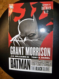 BATMAN THE BLACK GLOVE-GRAPHIC NOVEL-NEW
