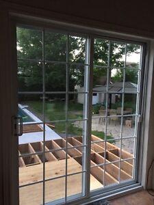 Porte patio et fenêtres à vendre
