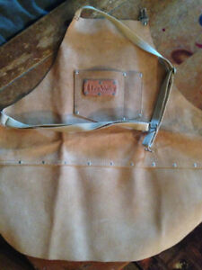Lee Valley Leather Wood Workers Apron - Small - Brand New