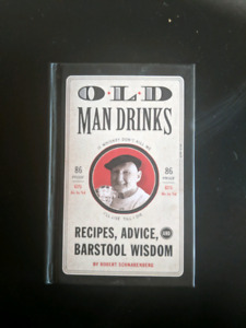 Old Man Drinks Cocktail Recipe Book