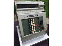 Vintage 1965 retro cash register till Monroe Sweda