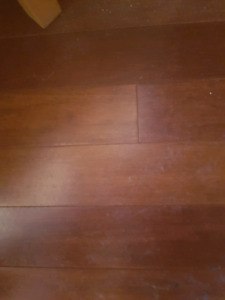Bamboo flooring New and used