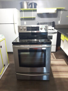 Samsung SS Electric Range-Dble Oven
