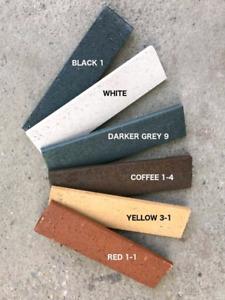 Real Clay thin brick veneers