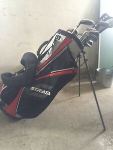 Strata Left Handed Golf Set