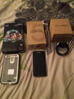 Samsung 5s phone, watch and case!