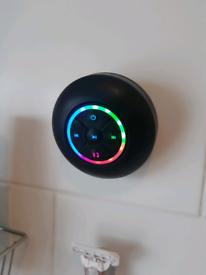 Light up Bluetooth shower speaker