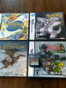 Nintendo DS and GBA Rpg's