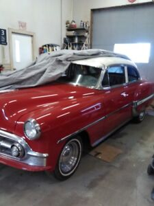 Beautiful 1953 Cherry Red Bel Air