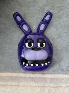 Bonnie FNAF mask in excellent condition almost new