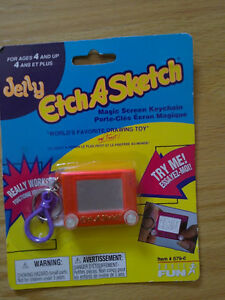 Brand new sealed Etch a sketch game keychain mini size London Ontario image 1