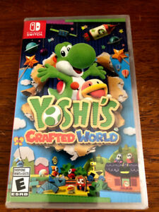Yoshi's Crafted World - New and Sealed (Nintendo Switch)