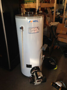 New Oil fired Water Heater