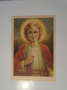 VINTAGE PRINT EMMANUEL MOTHER MARY NEALIS 1936