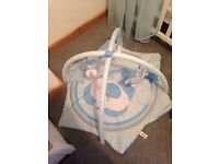 Baby activity play mat gym