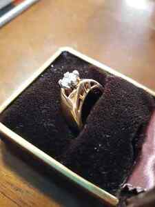 High quality 18k gold plated ring Windsor Region Ontario image 2