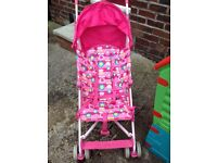 Mothercare Jive pushchair in good clean condition.