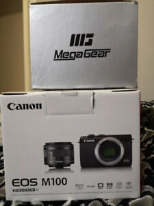 **SOLD** CANON EOS M100 w/leather case