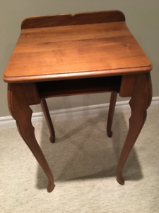 Small Antique Table with shelf