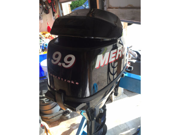 Used 2014 Mercury Mercury 9.9 hp 4 stroke