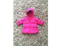 Girls pink Ralph Lauren coat