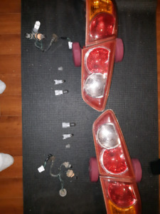 Mitsubishi Lancer parts (Tail Lights and Snorkel)