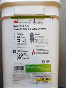 3M Roofer's Kit - Brand New - Never Opened