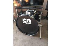 "CB Drums 22"" bass drum"
