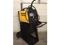 Wolf weld 140 mig welder and trolley