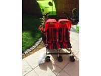 Maclaren double buggy