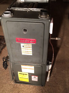 Goodman, 45000 BTU Gas Furnace, 95% Efficency, Free Warranty